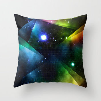 ASTRAL PLAINE Throw Pillow by Miran Elseewi | Society6