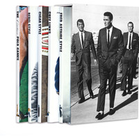 Assouline, Memoire Slipcase: Men, Non-Fiction Books