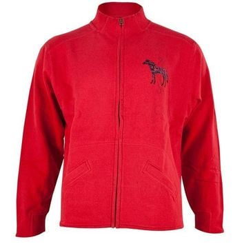 CREYCY8 Horse Women's Zip-Up Turtleneck Sweatshirt