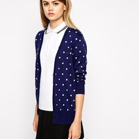 Fred Perry Polka Dot Cardigan