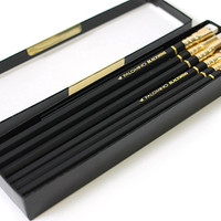 Palomino Blackwing Wooden Pencil - Pack of 12 in Black Gift Box - JetPens.com ($20-50)