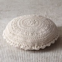 Crocheted Floor Pillow