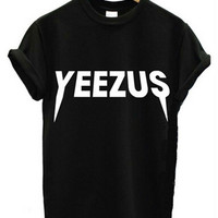 Yeezus  Printed Short-sleeved T-shirt