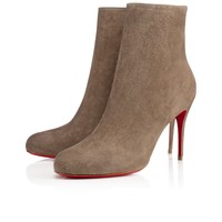 Fifi Booty 85mm Cendre Suede