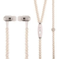 Pearl Earbud Necklace