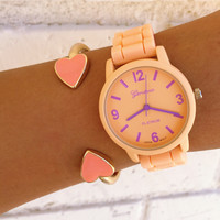 Peachy Luv Stack