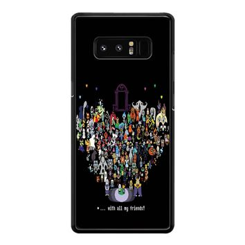 Undertale Sprites Samsung Galaxy Note 8 Case