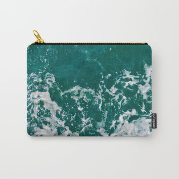 Emerald Waters Carry-All Pouch by ARTbyJWP