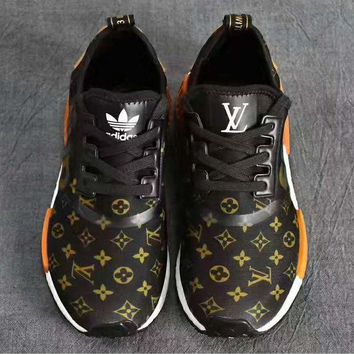 PEAPGE2 Beauty Ticks Supreme X Louis Vuitton X Adidas Nmd Retro Fashion Casual Sports Shoes G-psxy