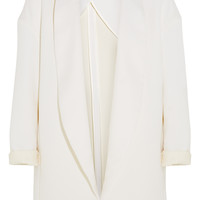 Rosetta Getty - Wool, cotton and silk-blend twill coat