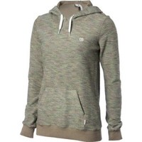 Element Juniors Colbie 2 Fashion Pullover Hoodie, Mineral, Small