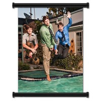 """Workaholics TV Show Season 1 Fabric Wall Scroll Poster (16"""" X 21"""") Inches"""