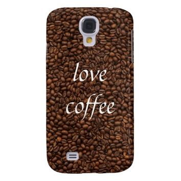 Love Coffee - Pile of Beans Galaxy S4 Case Cover