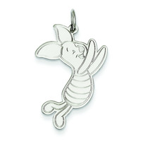 Sterling Silver Disney Piglet Charm WD200SS