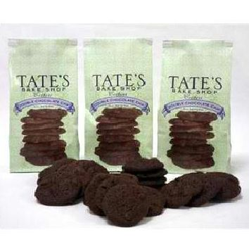Tate's Bake Shop Double Chocolate Chip Cookie (12x7oz )