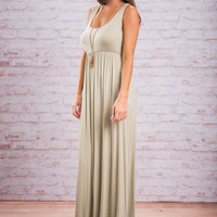 Easy Traveling Maxi Dress, Sage