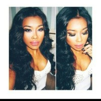 Beautiful Body Wave Full Lace Front Wig 20 inch