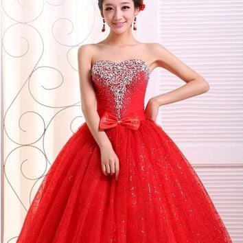 DXL0001 Red lace up back corset formal party evening dress long prom dresses 2014 2015 maxi plus size dresses