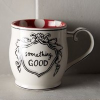 Molly Hatch Crowned Leaf Mug