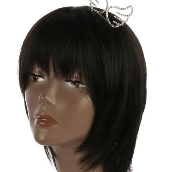 Silver Angel Wings Headband