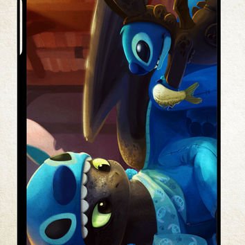 Toothless and Stitch Parody  Z0364 iPad 2 3 4, iPad Mini 1 2 3, iPad Air 1 2 , Galaxy Tab 1 2 3, Galaxy Note 8.0 Cases