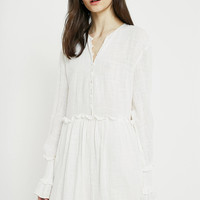 The East Order Poppy White Dress | Urban Outfitters