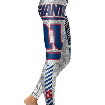 NY Giants Women's Leggings