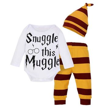 Baby's 3pc Fall/Winter Harry Potter Outfit