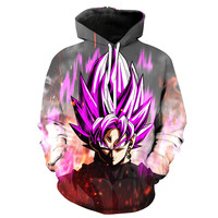 Black Goku V3 Dragon Ball Z Hoodie