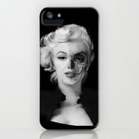 Dead Celebrities Series Half Skull. iPhone & iPod Case by Kristy Patterson Design