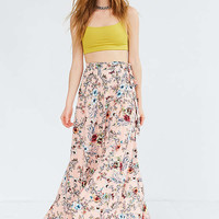 BOG Collective Tulip Wrap Maxi Skirt | Urban Outfitters
