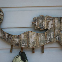 Mermaid Hat Rack/Beach House Decor