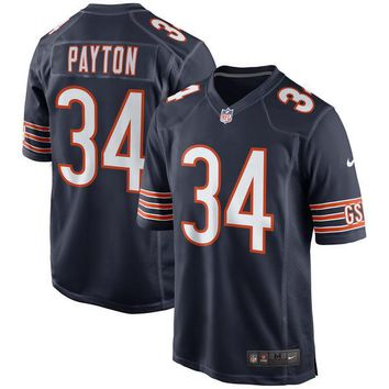 Men's Chicago Bears Walter Payton Nike Navy Retired Player Game Jersey