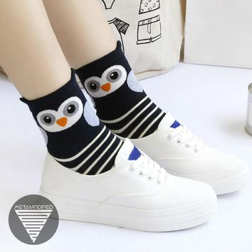 Kawaii Owl Socks