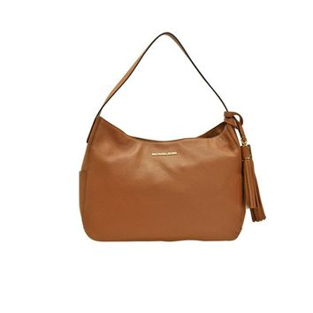 Michael Kors Ashbury Large Slouchy Leather Shoulder Bag