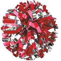 In-Stock 2 Color Metallic Youth Cheerleading Pom