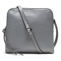 Banana Republic Double Pouch Crossbody Size One Size - Urban gray