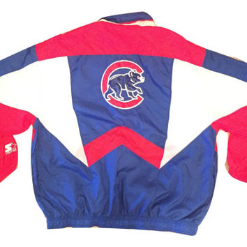 Vintage Chicago Cubs Starter Windbreaker Jacket Clothing Unisex Men Women