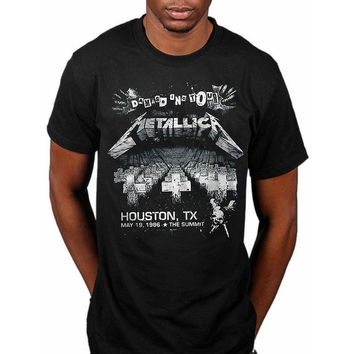 Metallica - Damage On Tour Adult T-Shirt