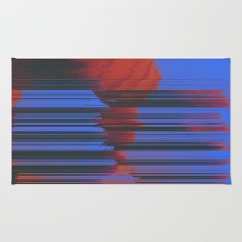 Sunset Melodic Rug by DuckyB