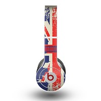 The Vintage London England Flag Skin for the Beats by Dre Original Solo-Solo HD Headphones