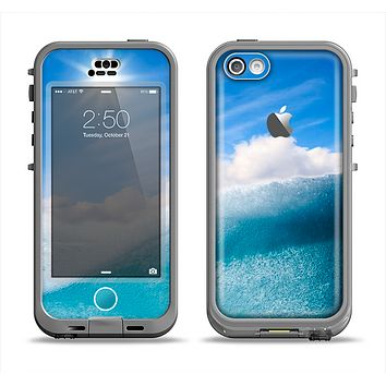 The Sunny Day Waves Apple iPhone 5c LifeProof Nuud Case Skin Set
