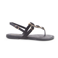 Black Mystery-16 Sandals