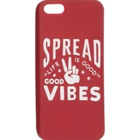 Life is good Good Vibes iPhone 5 Case