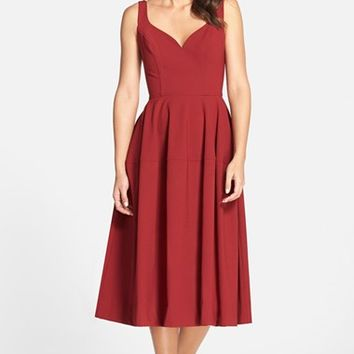 Women's Jill Jill Stuart Crepe Midi Dress