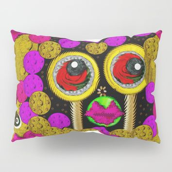 Waiting For My Lollipop Pillow Sham by Pepita Selles