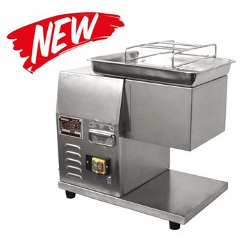 Commercial Kitchen Meat Cutting Machine with 8 mm Blade 1.5 HP