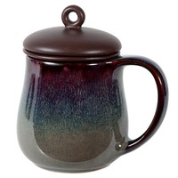 Reactive Brown Ch'a Infuser Mug