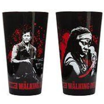 The Walking Dead Characters Set of 4 Drinking Pint Glasses