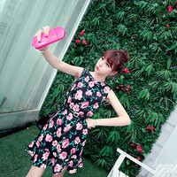 [Freak] fishtail floral dress